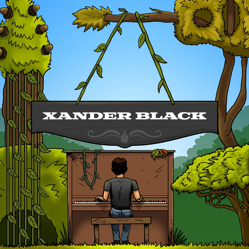 Xander Black Album Art