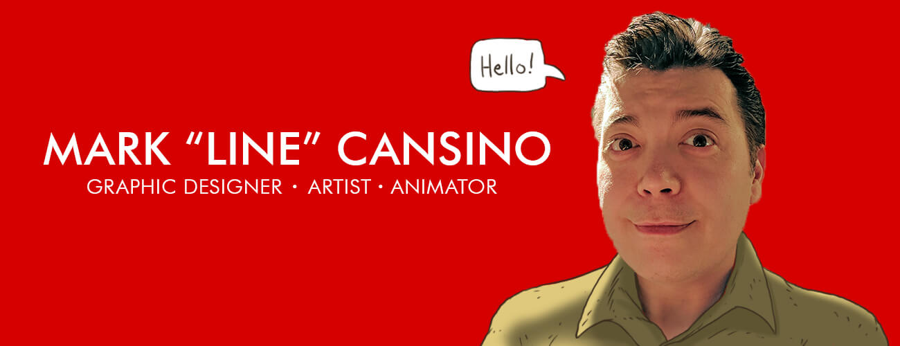Line aka Mark Cansino is an illustrator, animator, and designer
