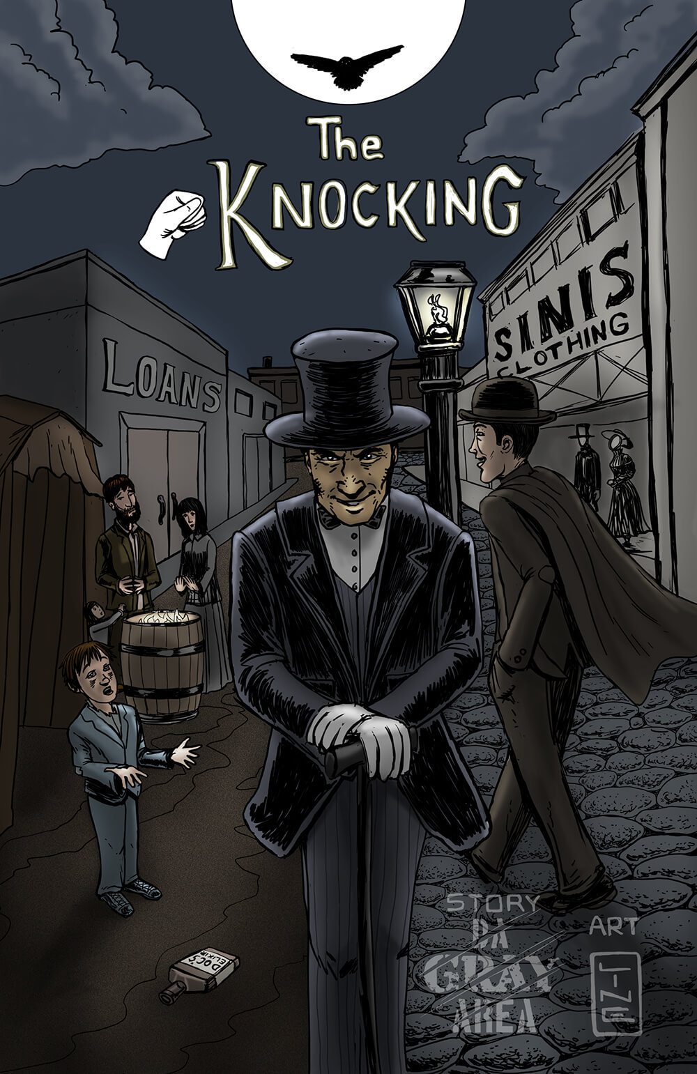 The Knocking Cover art