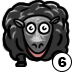 Twitch Channel Badge Black Sheep